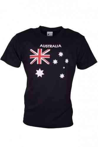 T-Shirt Australia Flag on Navy